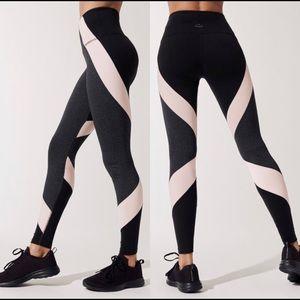 Beyond Yoga Color Block High Waisted Leggings SzXL